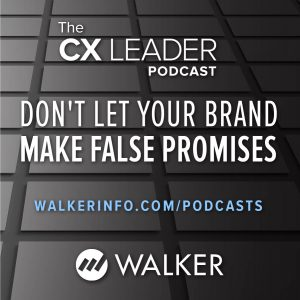 Listen to the podcast: Don't let your brand make false promises